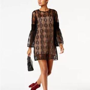 NWOT Michael Kors Lace Bell Sleeve Dress